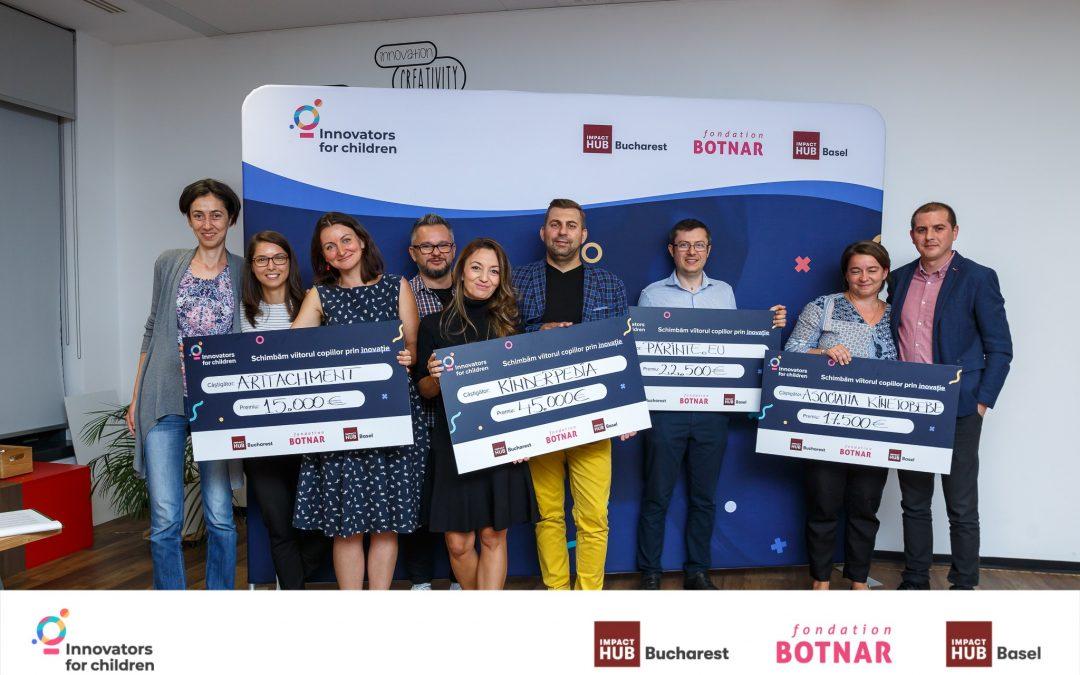 Cele 4 startup-uri care schimbă viitorul copiilor: Meet the winners!