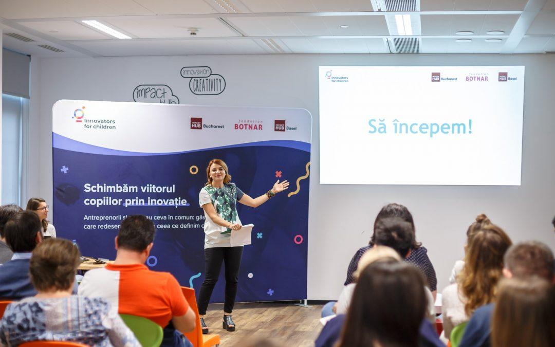 Pregătim a doua ediție a programului Innovators for Children