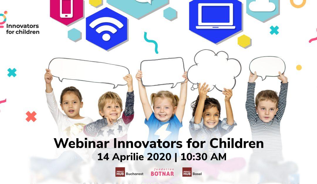 Ce am învățat de la câștigătorii primei ediții Innovators for Children