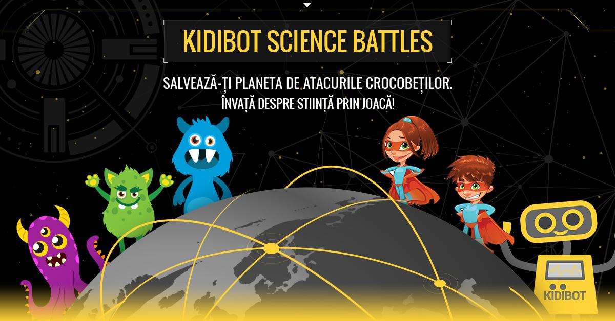 Innovators for Children: Kidibot